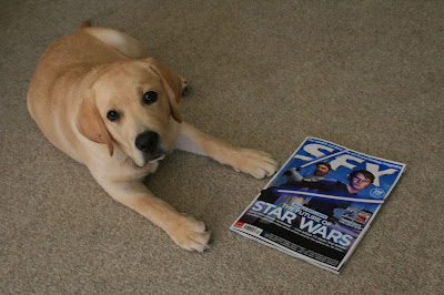 Hollywood Hound and star of SFX magazine September 2008 issue