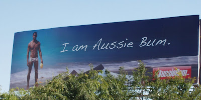 Aussiebum swimwear billboard