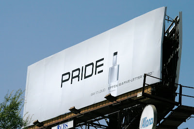 Effen Vodka Pride billboard