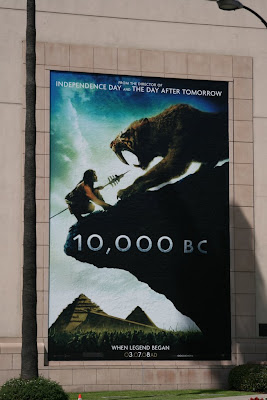 10,000 BC movie billboard