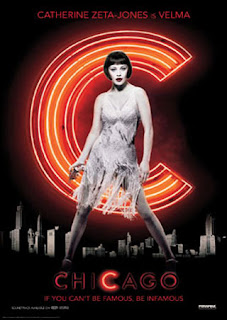Catherine Zeta-Jones as Velma in the musical movie Chicago