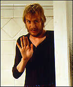 Welsh actor Rhys Ifans as Spike in Notting Hill