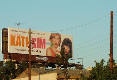 The USA version of Kath & Kim billboard poster