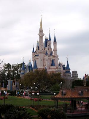 Disney Castle at Walt Disney World Florida