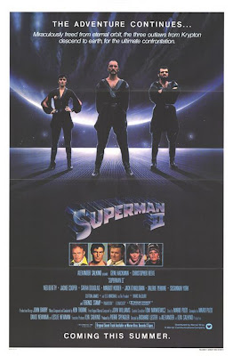 Superman 2 Movie poster