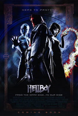 Hellboy - Here to Protect movie poster