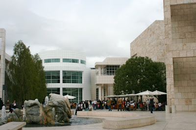 Getty Center Museum Courtyard