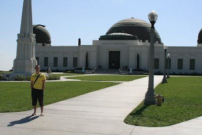 Jason in Hollywood at the Griffith Park Observatory