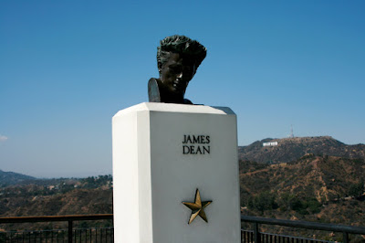 James Dean Statue at Griffith Observatory