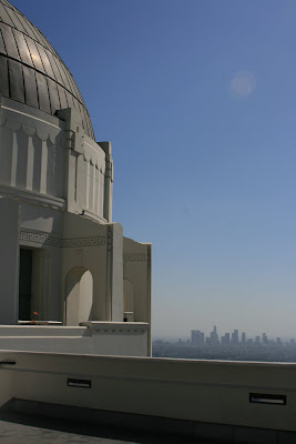 View of Downtown LA. from Griffith Observatory