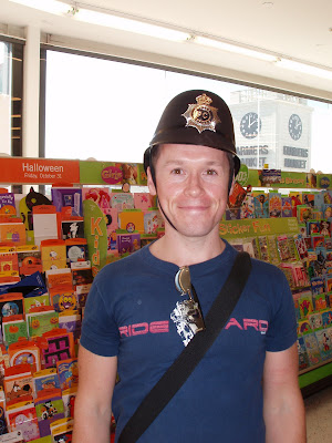 Halloween hats - UK Policeman