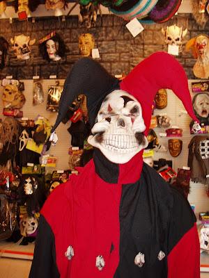 Halloween Jester mask