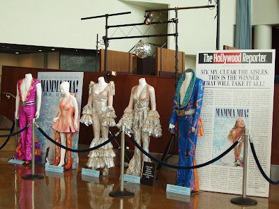 Costumes form Mamma Mia The Movie