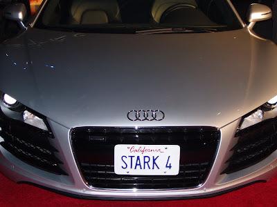 Tony Stark's Audi form the Iron Man movie