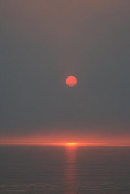 Santa Monica spectacular sunset