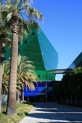 The iconic Pacific Design Center