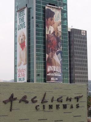 Australia movie billboard at ArcLight Hollywood