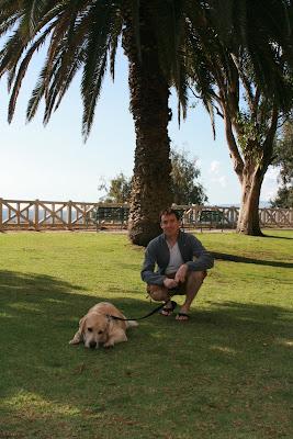 Palisades Park pup & Charlie