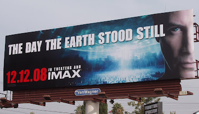 The Day The Earth Stood Still 2008 movie billboard
