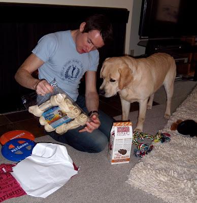 Dog treats Christmas 2008
