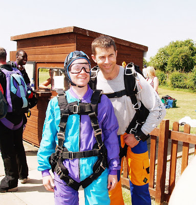 Before the Treehouse tandem skydive