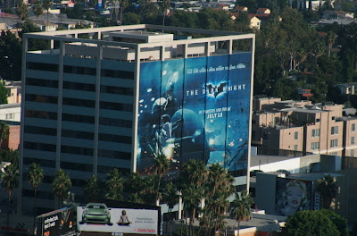 The Dark Knight Movie Bat-pod billboard