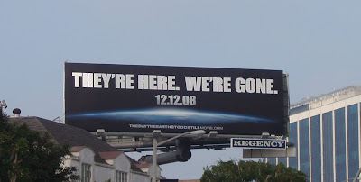 The Day the Earth Stood Still billboard Sunset Blvd