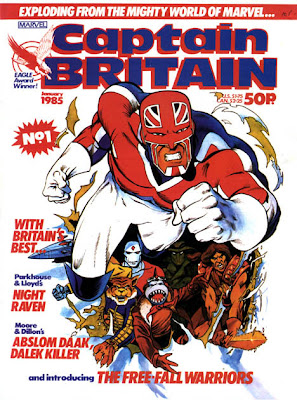 Captain Britain issue 1