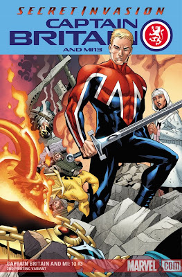 Captain Britain Secret Invasion cover