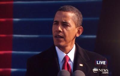 President Obama's inauguration day