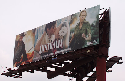 Australia film billboard