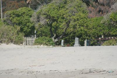 Sycamore Cove movie graveyard