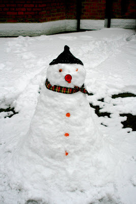 Snowmen come in all shapes and sizes