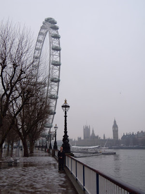 Jason in front of The London Eye