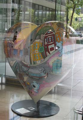 Sirron Norris My Heart Sculpture Market Street