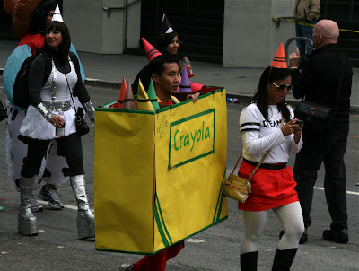 Crayola costume Bay to Breakers 2010