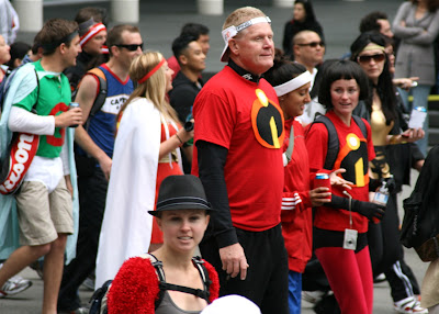 Incredibles costumes Bay to Breakers 2010