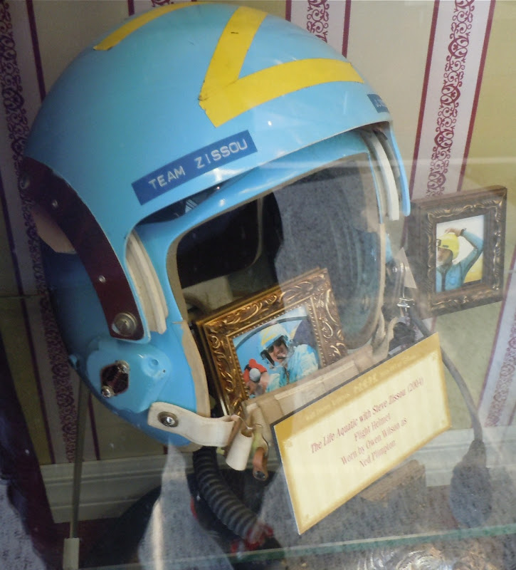 Owen Wilson Life Aquatic flight helmet