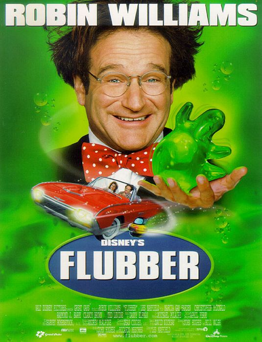 Flubber movie poster