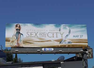Sex and the City 2 film billboard