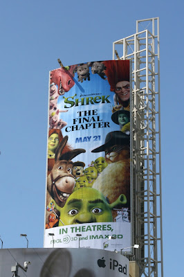 Shrek Final Chapter film billboard