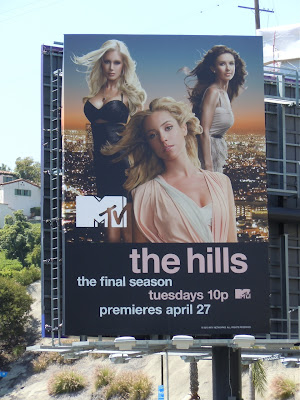 The Hills Final Season billboard