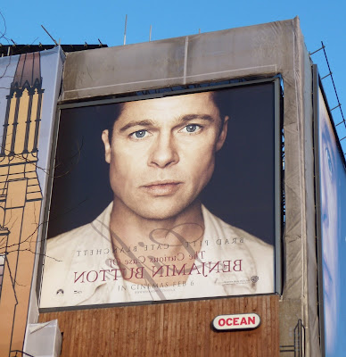 Curious Case of Benjamin Button billboard