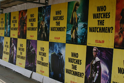 Who watches the Watchmen? movie posters