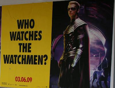 Watchmen movie Ozymandius poster