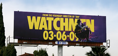 Rorschach Watchmen film billboard
