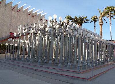 Urban Light 202 vintage lampposts LACMA