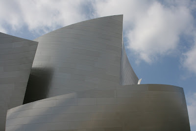 The stunning Walt Disney Concert Hall