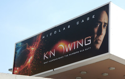 Knowing film billboard