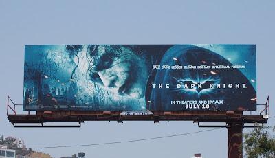 Heath Ledger Joker billboard